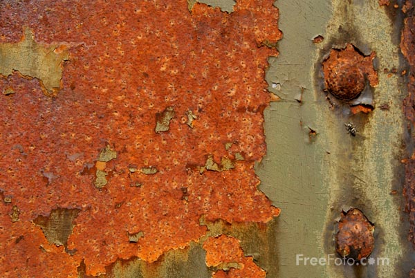 Picture of Rust Texture - Free Pictures - FreeFoto.com