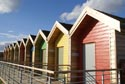 Image Ref: 9909-06-6915 - Blyth beach huts, Viewed 2824 times