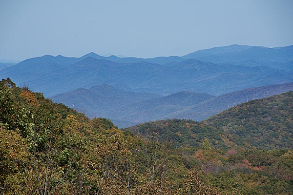 Picture of View from the Blue Ridge Parkway - Free Pictures - FreeFoto.com