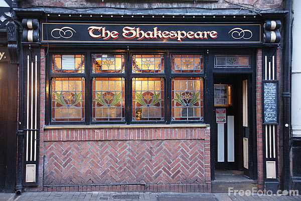 Picture of The Shakespeare Tavern, Durham City - Free Pictures - FreeFoto.com