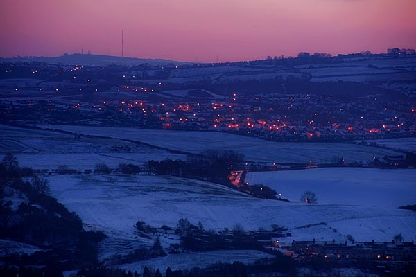 Picture of Winter scene in the Tyne Valley - Free Pictures - FreeFoto.com