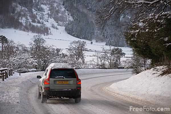 Picture of The Scottish Borders in January 2010 during the worst Winter weather conditions in 20 years. - Free Pictures - FreeFoto.com