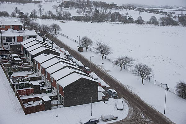 Picture of Gateshead under snow during January 2010 - Free Pictures - FreeFoto.com
