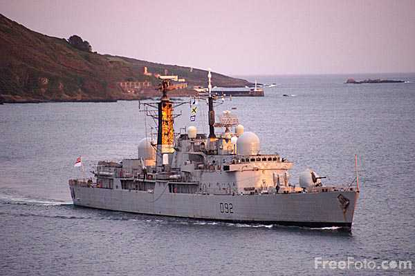 Picture of Royal Navy Type 42 Destroyer HMS Liverpool (D92) - Free Pictures - FreeFoto.com