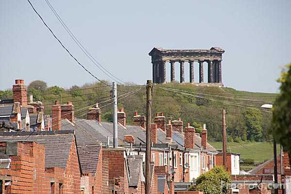 Picture of Penshaw village and Penshaw Monument - Free Pictures - FreeFoto.com