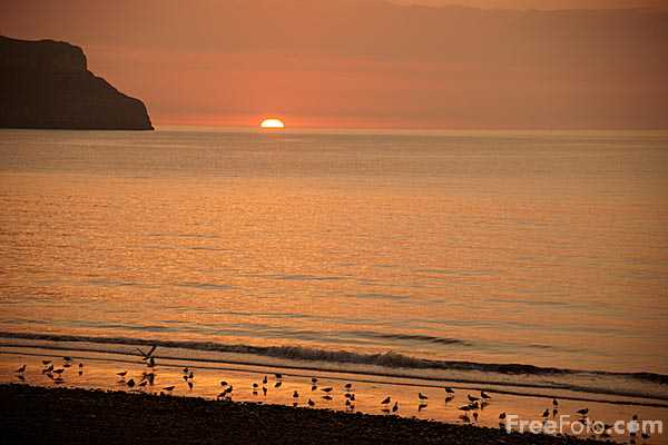 Picture of Sunset, Llandudno - Free Pictures - FreeFoto.com