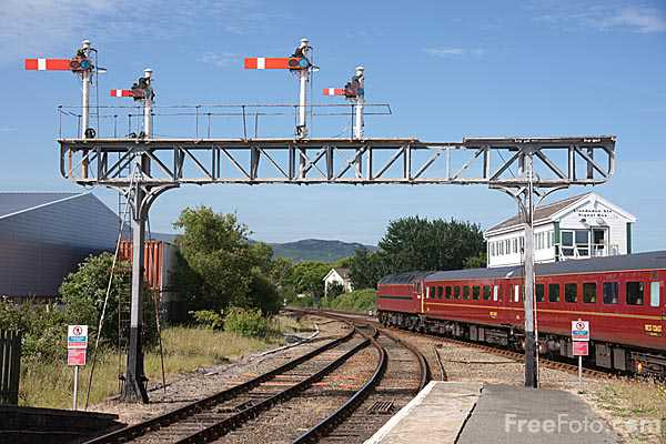 Picture of WCRC Class 57/6 57601 - Free Pictures - FreeFoto.com