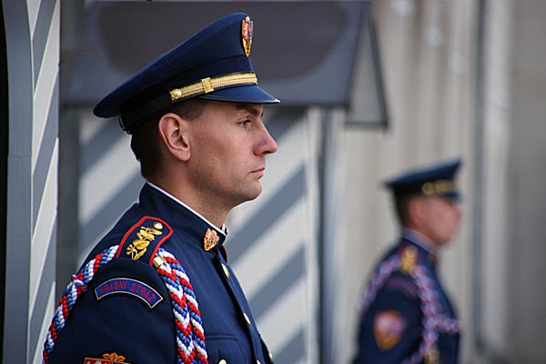 Picture of Prague Castle guard - Free Pictures - FreeFoto.com