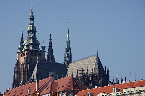 Picture of St. Vitus Cathedral, Prague - Free Pictures - FreeFoto.com