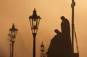 Image Ref: 9910-10-8809 - Charles bridge at dawn, Viewed 2437 times