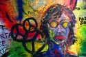 Image Ref: 9910-10-8990 - John Lennon Wall in Prague, Viewed 5039 times
