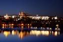 Image Ref: 9910-10-9446 - Prague Castle and the Charles Bridge at Night, Viewed 5083 times