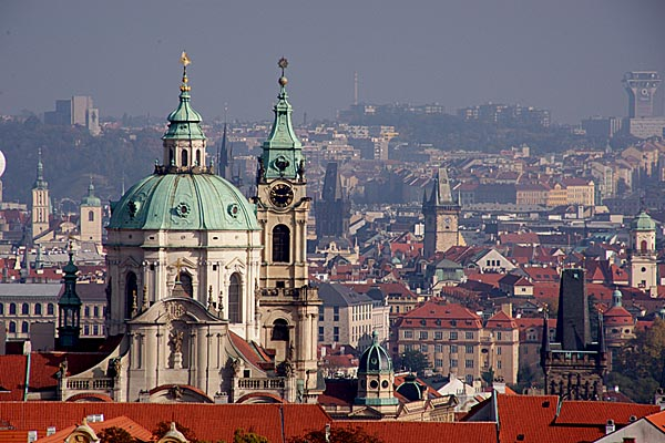 Picture of Prague Skyline - Free Pictures - FreeFoto.com
