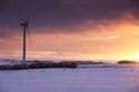 Image Ref: 9910-11-1710 - Wind Farm at Sunset, Viewed 2575 times