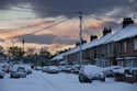 Image Ref: 9910-11-1729 - Snow covered street, Viewed 2574 times
