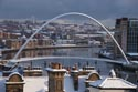 Newcastle Gateshead Quayside in Winter has been viewed 5036 times