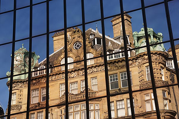 Picture of Building Reflections - Free Pictures - FreeFoto.com