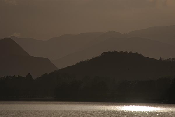 Picture of Late afternoon sun, Ullswater, Lake District National Park, Cumbria - Free Pictures - FreeFoto.com