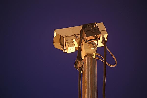 Picture of CCTV camera - Free Pictures - FreeFoto.com