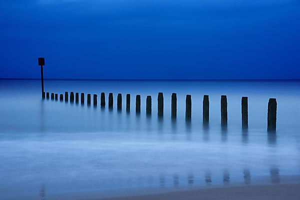 Picture of Beach in the Twilight - Free Pictures - FreeFoto.com