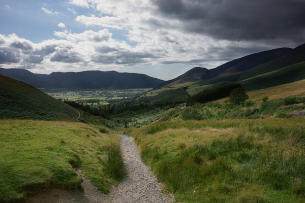 Picture of Footpath from Keswick to Skiddaw - Free Pictures - FreeFoto.com