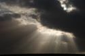 Crepuscular rays at sunset has been viewed 2991 times