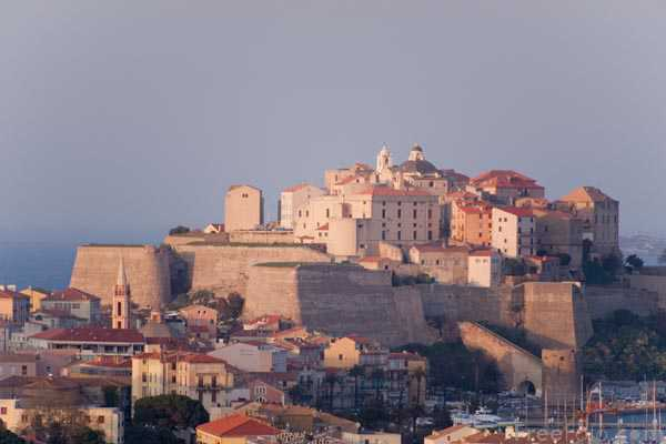 Picture of Old town of Calvi in Corsica - Free Pictures - FreeFoto.com